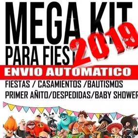 Kit Imprimible Candy Bar Mega 2019 + Regalos