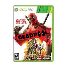 Deadpool The Game Xbox 360 Mídia Física Lacrado Nfe