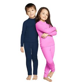 Roupa Térmica Bebe Criança Infantil Conjunto Blusa+calça