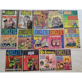 Lote Revista Chiclete Com Banana Angeli Séries