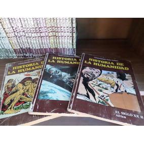 Colección Historia De La Humanidad!!! 52 Tomos Completa!!!