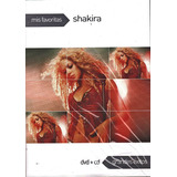 Dvd+cd Shakira Grandes Exitos (serie Mis Favoritos)