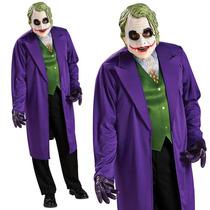 Disfraz Joker Guason De Batman Talla Estándar Para Adulto