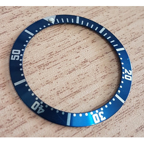Bisel (decalque) Omega Cor Azul 38mm