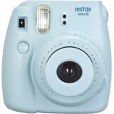 Camara Fujifilm Instax Mini 8 Instant Camera (blue)