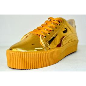 Zapatos Puma Deportivos Para Dama Amarillos