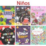 Mandalas Iluminar Colorear Paquete Varios Libros