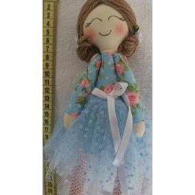 Bonecas De Pano Da Iris - Bailarina Docinho-25 Cm