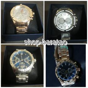 e52d4d4779d Kit 10 Relogios Masculinos Dourados - Relógios no Mercado Livre Brasil