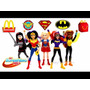 Dc Super Hero Girls - Mc Donalds 2017 Coleccion Completa