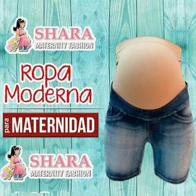 Short Mezclilla De Maternidad