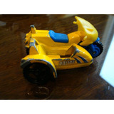 Matchbox Moto Policia Con Sidecar 2001,