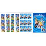 5 Set De Estampillas Looney Toones (mnh) De U.s.a.