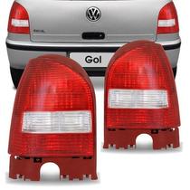 Lanterna Traseira Gol G3 Bicolor Modelo Original (par)