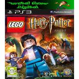 Lego Harry Potter 5-7 Ps3 Digital