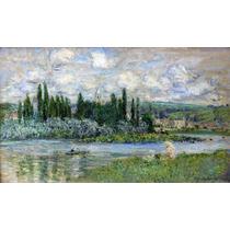 Lienzo Tela Claude Monet 1880 Francia 50 X 85 Cm Pintura