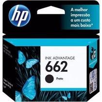 Cartucho Hp 662 Preto Original Impressora Hp 3516 1516 2646