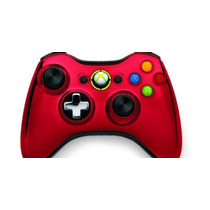 Controlador Inalámbrico Xbox 360 Cromo Serie Limited Editio