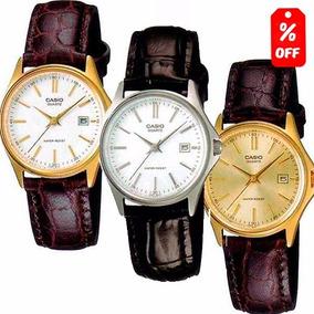 Reloj Dama Casio Ltp1183 Clásico- Extensible De Piel - Cfmx