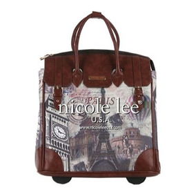 Set Equipaje Nicole Lee Fiona Rolling Business Tote [lauren