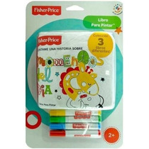 Fisher Price Libro De Tela Lavable Int F008 Book Paint