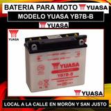 Bateria Yuasa Yb7b-b Nx 150/xt 225 Y Mas Incluye El Liquido!