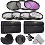 Vivitar Kit Set Filtros/lentillas Aproximación/estuches 55mm
