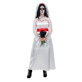 (l) Señoras Grandes Señora Mexicana Novia De Traje Muerto P