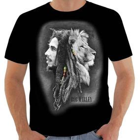 397e07385 Camiseta Leão De Judah Nação Reggae Rastafari Jamaica 9316