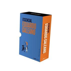 Box - Essencial De Eduardo Galeano - 4 Livros - Pocket