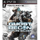 Ghost Recon Future Soldier Ps3, Disco, Nuevo Y Sellado