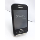 Smartphone Samsung S6102b Galaxy Y Duos Preto Usado