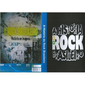 Dvd - História Do Rock No Brasil - Raul Seixas/tim Maia/rpm/