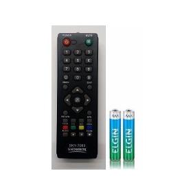 Controle Remoto Showbox Sat Hd Plus /utra Hd +pilhas