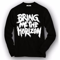 Camiseta / Camisa Manga Longa Bring Me The Horizon