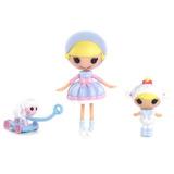 Hermanas Mini Lalaloopsy Little Y Bow Bah Peep