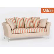 Sofá Sillón Milan 3 Cuerpos - Color Living Cuotas