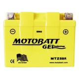 Bateria De Moto Gel Cg Titan 150 Ks Todos Os Anos Motobatt