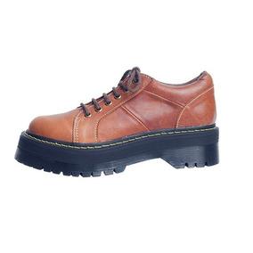 Zapatos Borcegos Vintage Joku Tipo Dr Martens Talle 35 Nuevo