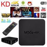 Conversor Smart Tv Box 4k Android Netflix Internet Tv Hdmi