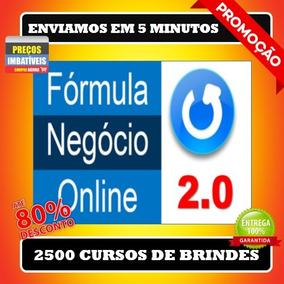 Fórmula Negócio Online 2.0- Alex Vargas+ 2500 Brindes