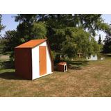 Galpon Deposito Jardin 2x2 Desarmable Diseño Exclusivo Stock