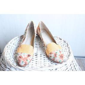 Zapatos Balerinas Taco Madera Asos Estampado 39