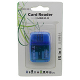 Card Reader Leitor Usb Cartao Micro Sd Adaptador Pendrive