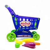 Boley Juguete Carro De Compras Con Juguete Alimentos - Super