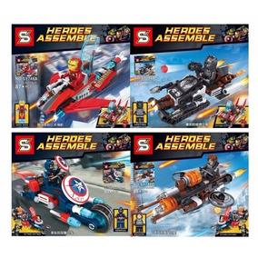 Avenger | Minifiguras Armable | Heroe Assemble | Importado
