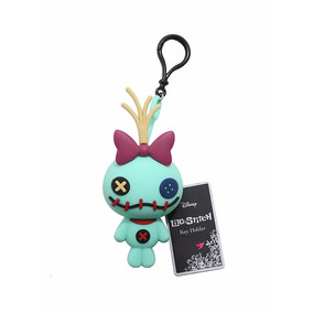 Disney Lilo Stitch Llavero Monedero Trapos Silicón 3d 2017