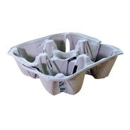 Portavasos De Carton Biodegradables Ecologicos Caja 300 Pz
