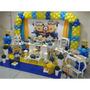 10 Kit Decoração De Festa Infantil Cenários + Painel 150x100