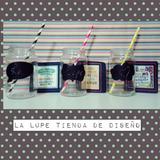 Vaso Frasco- Pizarra - Souvenirs - Barra De Trago Cumpleaño